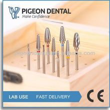1402-0010 All Size Carbide Cutters/dental round bur