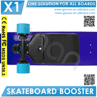 Electric Longboard Boosted Dual Motor Plastic Skateboard Deck