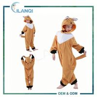 ALQ-C033 Easy cosplay wholesale anime kids animals pajamas with pocket