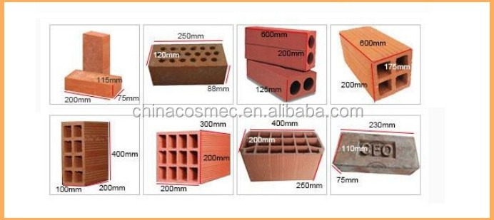 Red soil brick machine with Chain-type Box Feeder in the brick making production line /transportation &shaping system