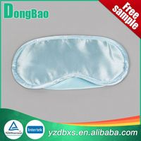 Polyester cotton soft cheap polyester custom printed eye mask