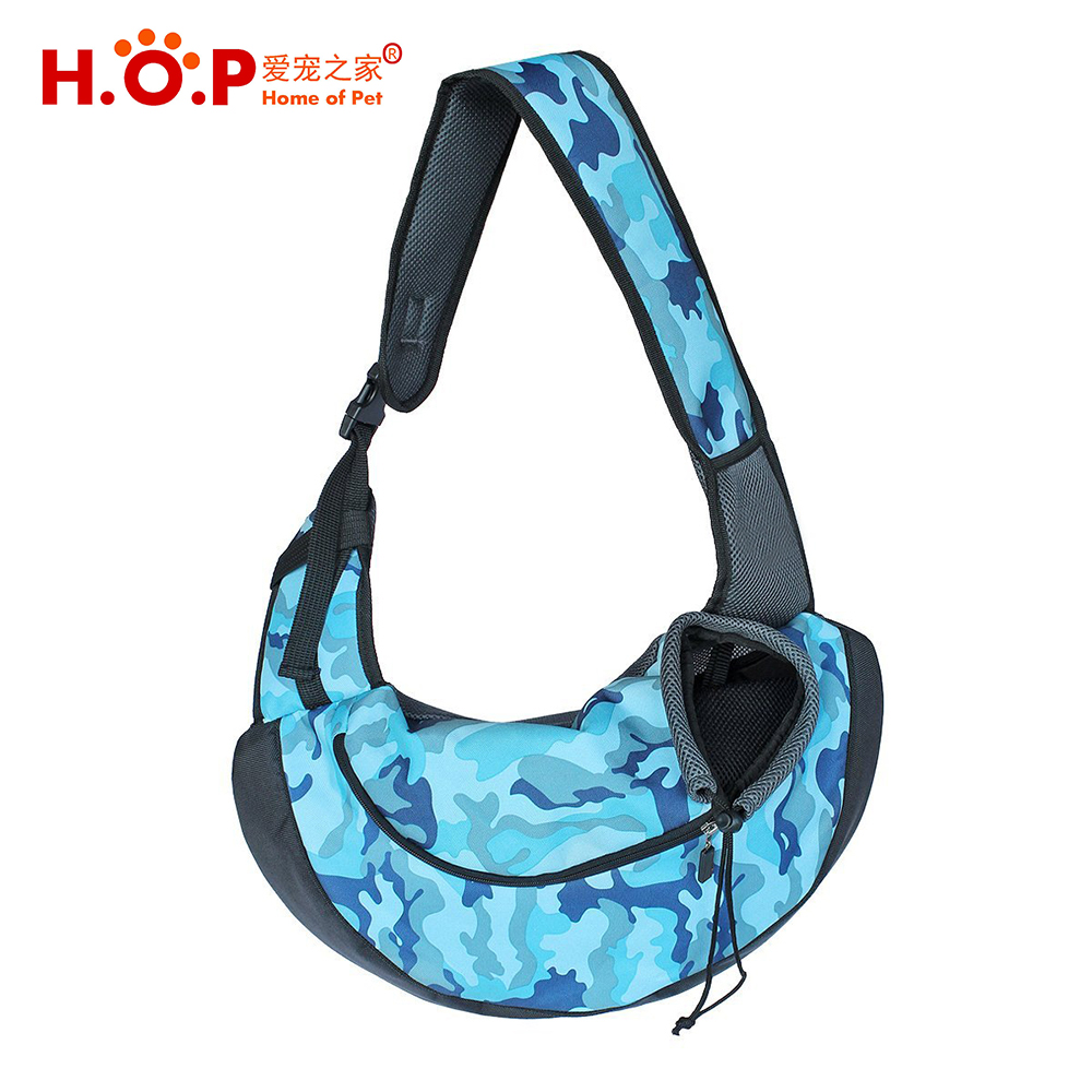 2017 New Products Chinese Supplier Outdoor Puppy Chest Front Single Shoulder Carry Bag Dog Pet Sling Carrier For Small Dog