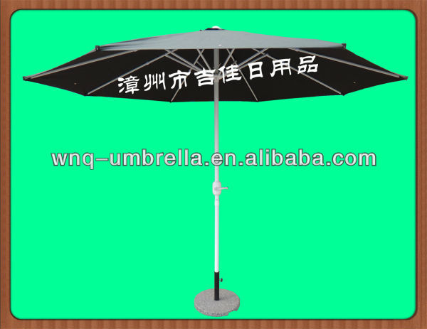 CWF-300DG 3M crank handle easy open water proof patio umbrella