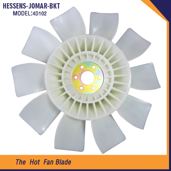 Wholesale fan blade fan blade propeller and diesel engine cooling fan blade4D102