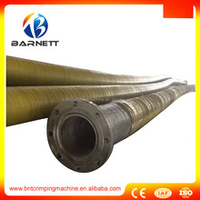 ss cover protected 250mm flexible tanker barge oil discharge hose