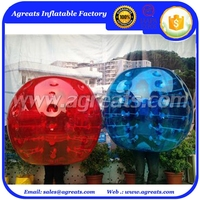 Hot selling inflatable body bumper ball made in China GB7024