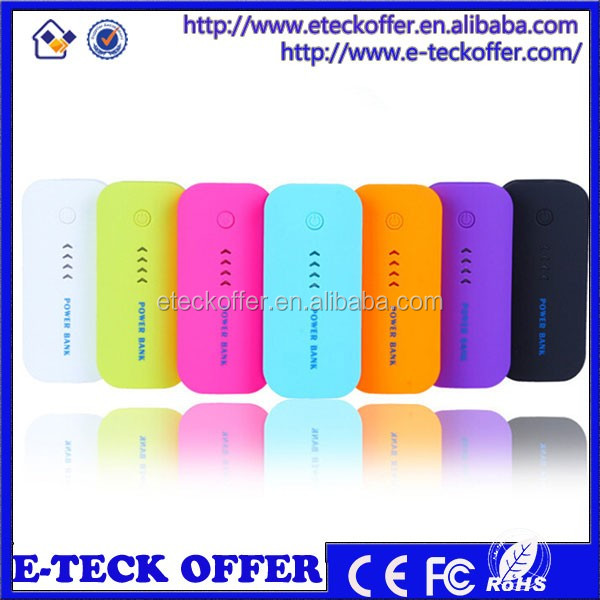 Factory Power Bank mobile phone power bank 5200mah 5600mah with logo
