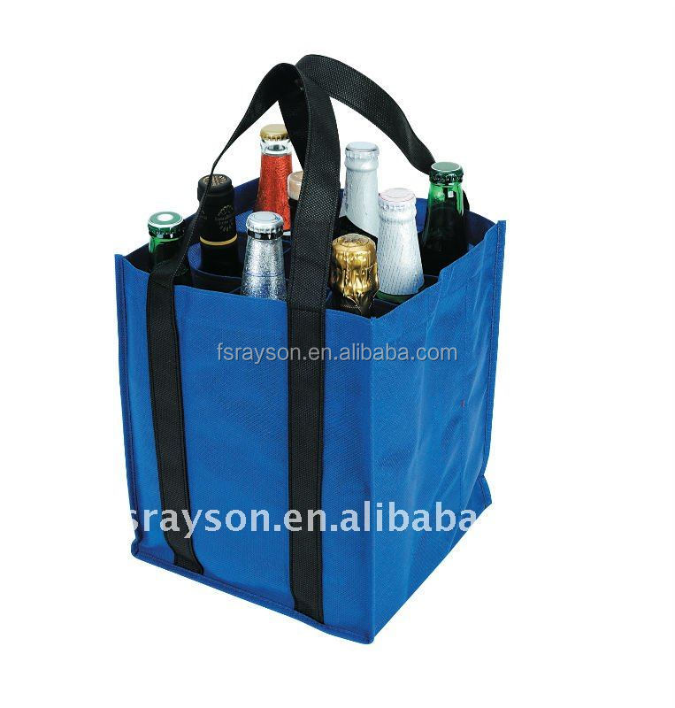 Environment friendly pp non woven wine bag