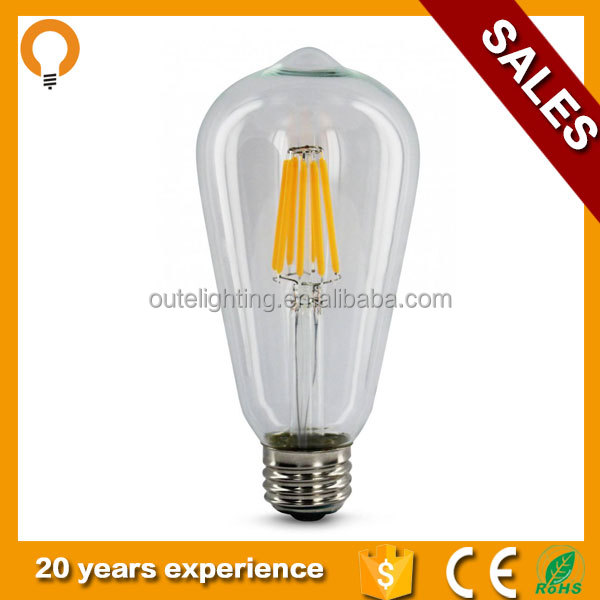 High Quality Antique Decoration Incandescent Light Bulb Lamp