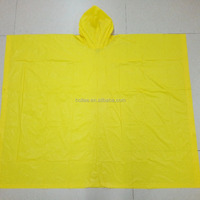 Hollee Promotion Waterproof PVC Adult Rain