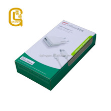 Custom Wholesale Eco Friendly Window 300 gsm paper box packaging
