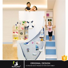 New Design New Model Hot Sale Living Room Children Hidden Double Folding Wooden Bunk Beds Set Wholesale Modern Furniture