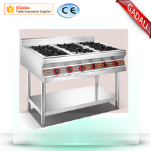 2017 hot sale gas stove 6 burners, restaurant gas stove burner, commercial portable gas stove burner(ZQW-34)