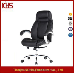 computer desk task hydraulic pu leather effect leather plus chair