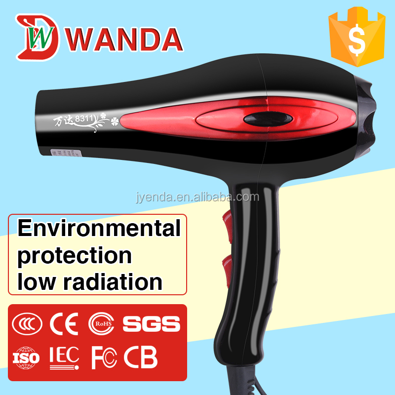 2600W Professional Hot Sale High Temperature Cold and Hot Air Hair Dryer