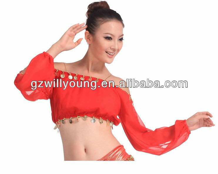 Beautiful Belly Dance Top,tribal tops,sexy belly dance tops