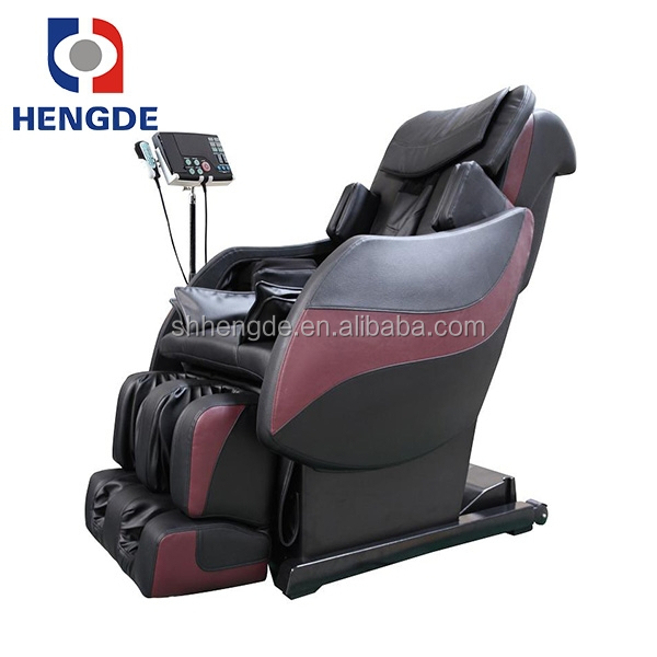 Beauty salon shampoo massage chair/2015 Best 3D L Shape and slide portable massage chair