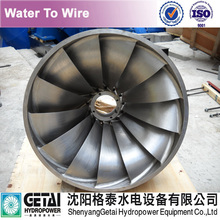 Blade on Francis water turbine runner 50Hz/60Hz water turbine generating unit generator & governer manufacturer made in china