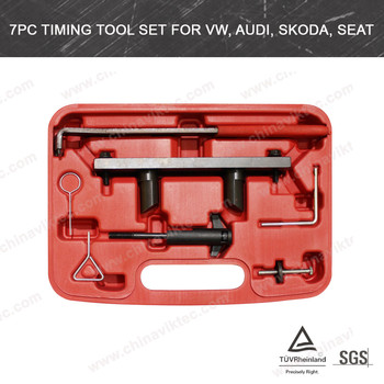 7pcs Engine Timing tool set for VW, Audi, Skoda, Seat(VT01529)