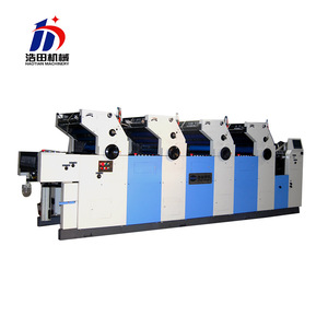 hot sales computer direct four colour offset printing machine