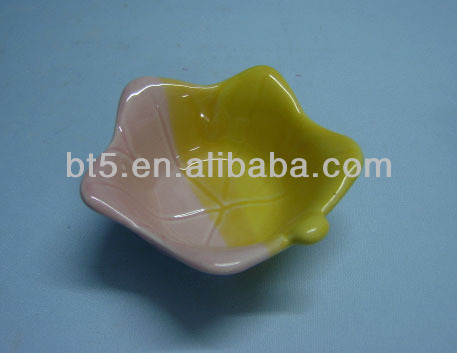color separation water lily bowl customized ceramic bowl