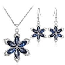 Fashion Wholesale Necklace And Earring Jewelry Set For Women