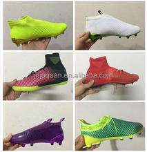 2015 Best selling football shoes,Newest style most popular design Men's outdoor soccer shoes Name brand football soccer boots