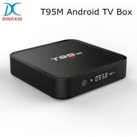 Amlogic S905 Quad Core 2GB RAM 8GB ROM KODI 16.0 2.4G WIFI Bluetooth T95M Spanish TV Box