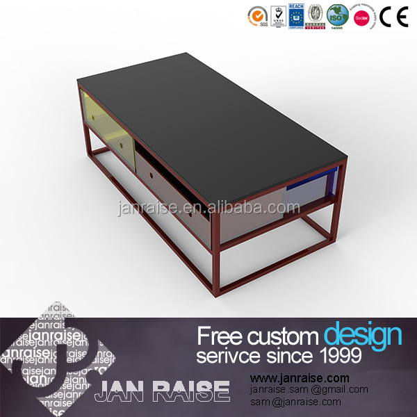 Guangdong supplier coffee table set without wheels