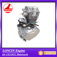 Factory Export Motorcycle spare parts loncin 125cc engine