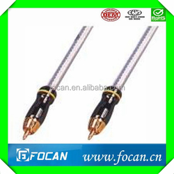 High Speed Alibaba Express Aux Audio Cable RCA to RCA cable