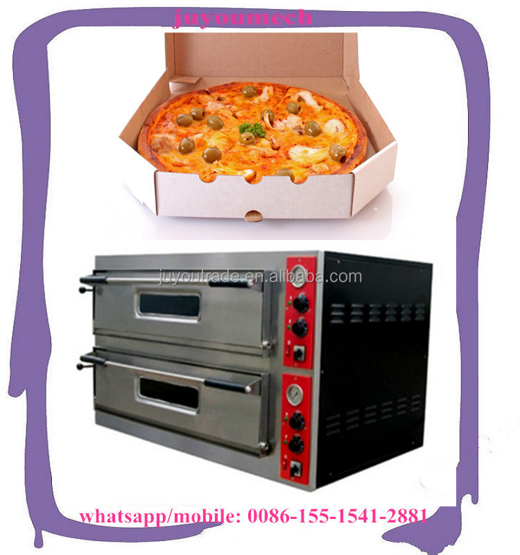 Commercial Pizza Baking Oven Bakery Machine Widely Used Electric Fast Food Gas Pizza Oven