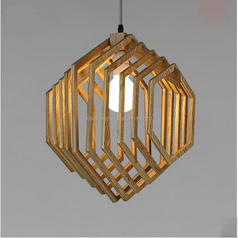 Modern Designer wooden Pendant <strong>lamp</strong> ash wood ball pendant light for ball /coffee