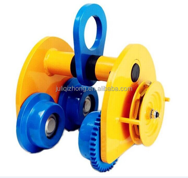 GCT Plain Pulling Hoist Hand Winch Monorail Trolley