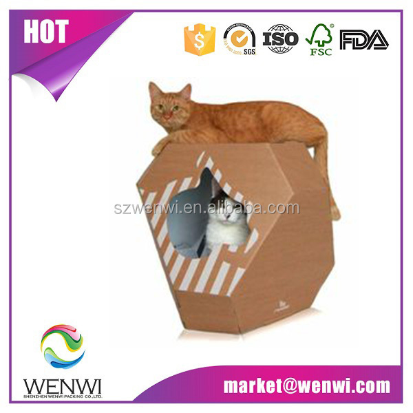 luxury products cardboard cat houses