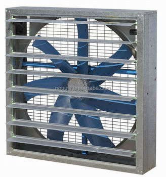 Large Flow Industrial Fan Used for Greenhouse and Workshop