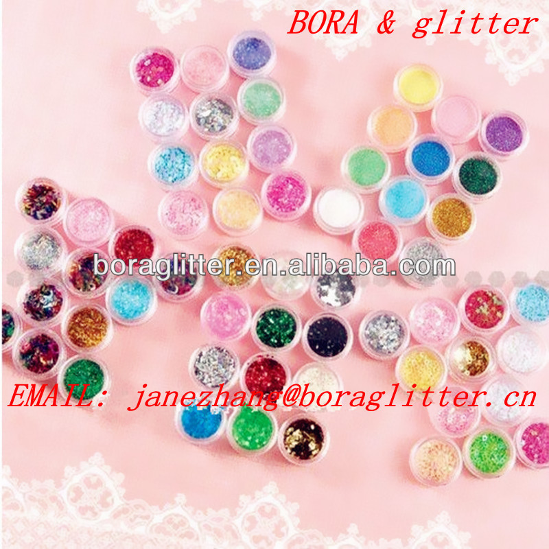 BL solvent resistance glitter cosmetic wholesale glitter