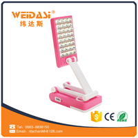 high bright arm flexible foldable 32 smd book reading light for OEM