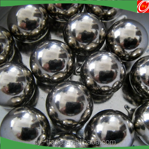 AISI304 316 201 Solid Hollow Polished Finished Stainless Steel Ball with Hole