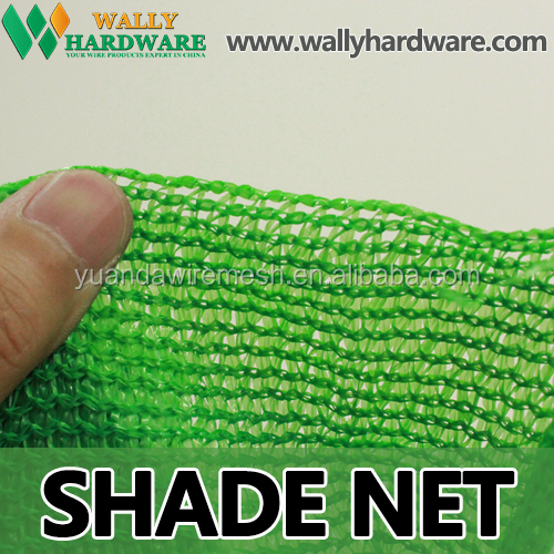 Low Price 340g, 30%- 95% Shade Rate HDPE UV Kanitted Sunshade Netting, Green Shade Net for Sale