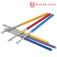 Colorful lightweight telescopic rod guides
