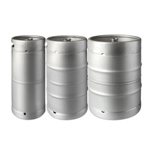 Stainless steel US beer barrel / beer keg