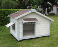 Wooden Dog Kennel,Spray Paint,Solid Wood