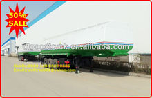 2012 Newly 3 axles 40 tons oil tanker semi trailer,fuel tanker semi trailer,pertrol transport semi trailer