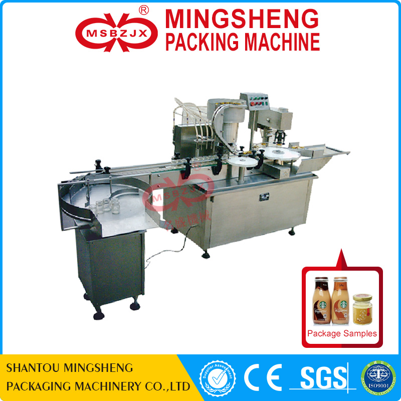 JX045 Automatic bottle filling machine liquid packing machine yogurt filling machine