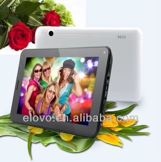 The cheapest tablet 7 inch Allwinner A13 tablet 2G calling Android Mid tablet