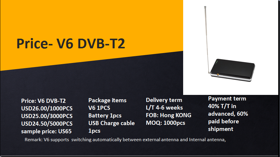 NEW arrival !!! DTV WIFI ROUTER enjoy free terrestrial tv channels without 3G/4G network anywhere and anytime