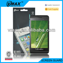 GuangZhou mobile phone accessories for Blackberry Z10 oem/odm (Anti-Fingerprint)