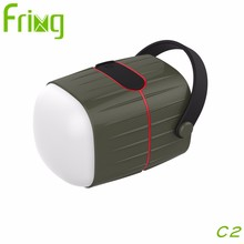 Outdoor Promotion bluetooth speaker camping light power bank for charging mobile phone