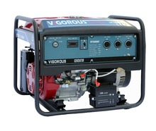 Single Cylinder Open Type 4-Stroke Portable 5KW Gas/LPG Generator with CE